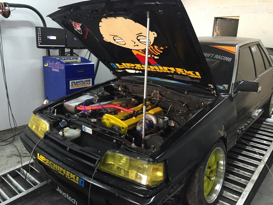 jaustech automotive lipschinski drift racing skyline 2017